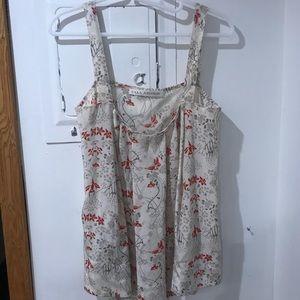 Ulla Johnson  silk babydoll blouse